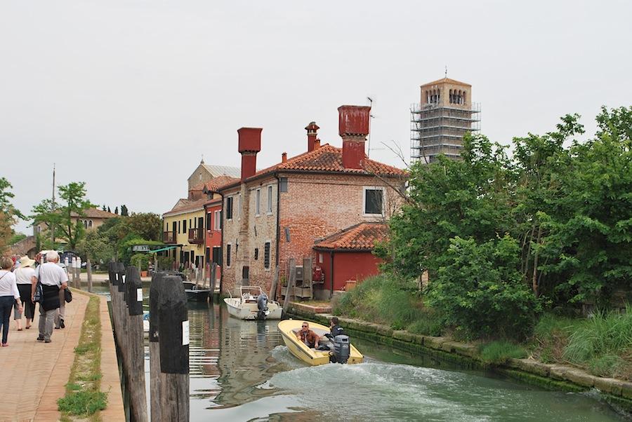 остров Торчелло в венецианской лагуне