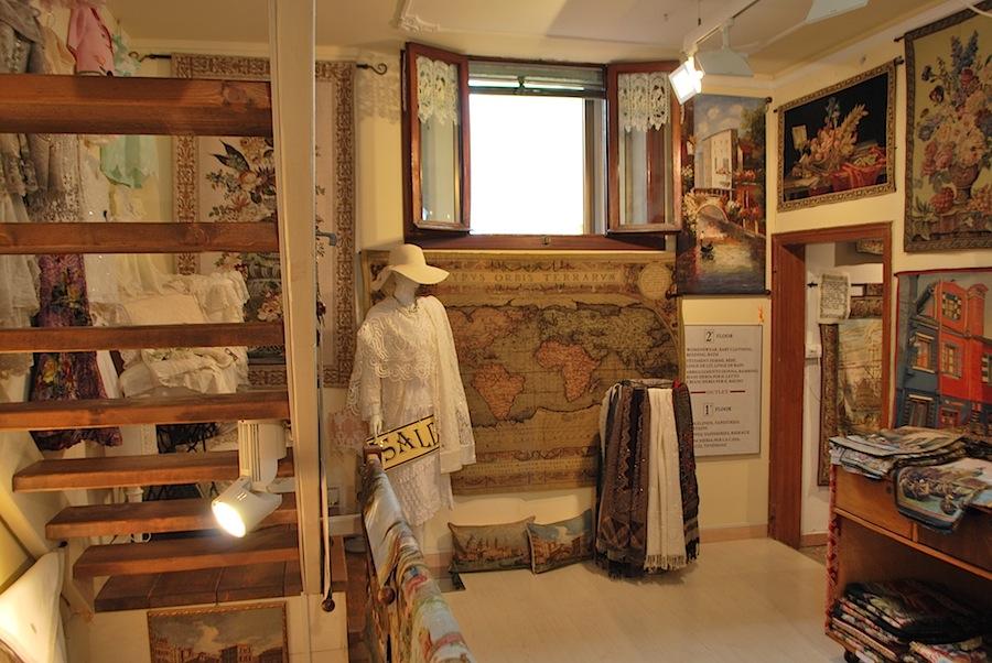мастерская по производству кружева и гобеленов, остров Бурани