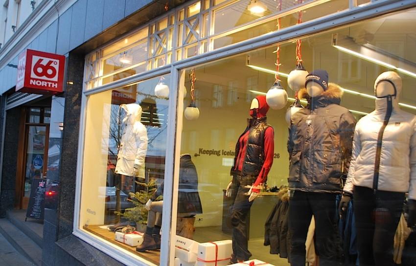 магазин 66°NORTH в Рейкьявике