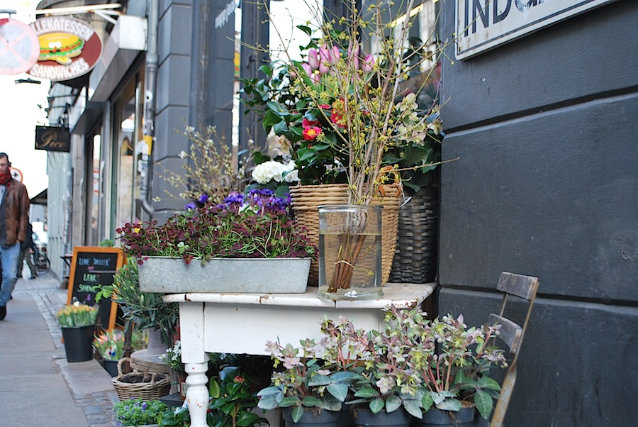 цветочный магазин Копенгагена
