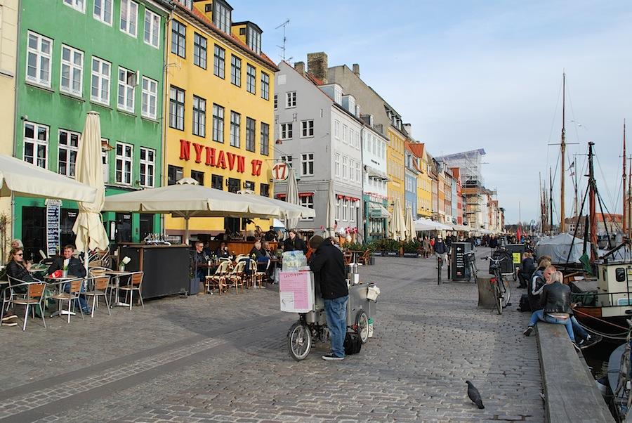 Новый порт Копенгагена (Nyhavn)