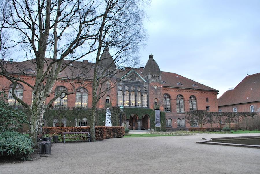 Сад Королевской библиотеки, Копенгаген