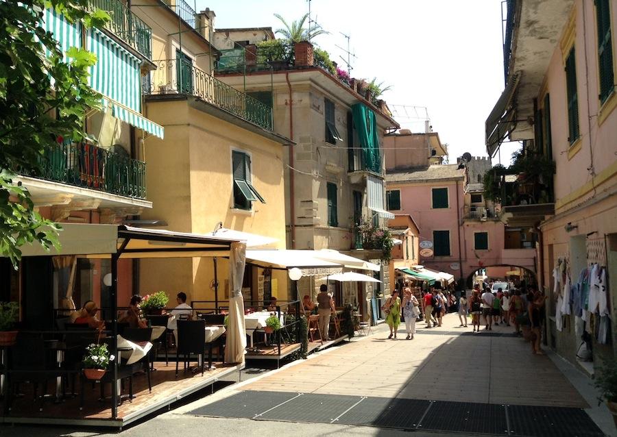 ресторан в Чинкве Терре, Италия