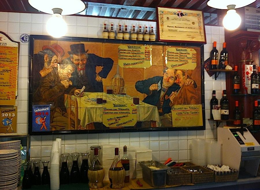 Da Nerbone, рынок Флоренции