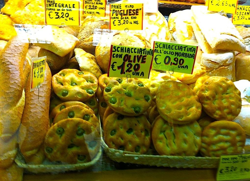 хлеб, рынок Флоренции