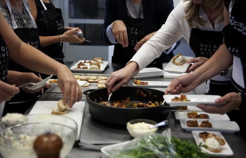 урок в кулинарной школе, испанская кухня, кухня Каталонии