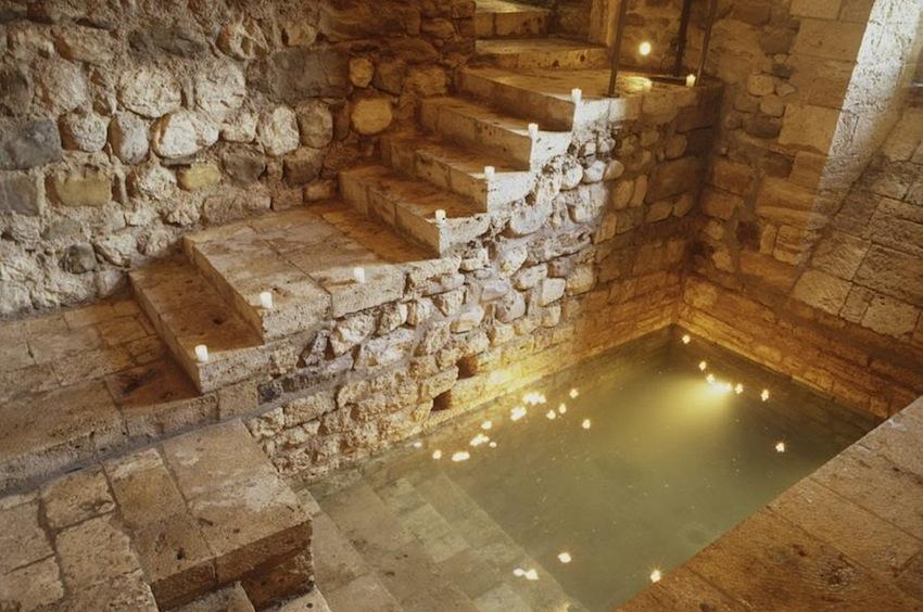 еврейская купальня в Бесалу, Бесалу, Испания, Каталония