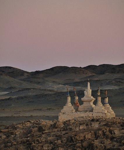 монгольские пески