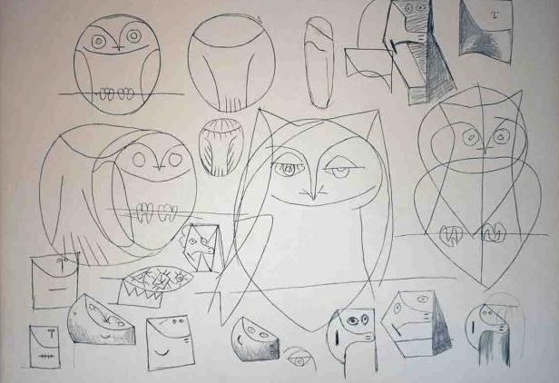 рисунки Пикассо