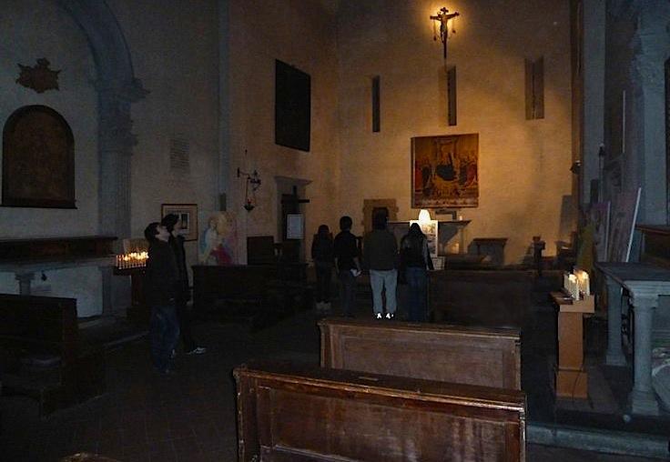 внутреннее убранство церкви Святой Маргариты