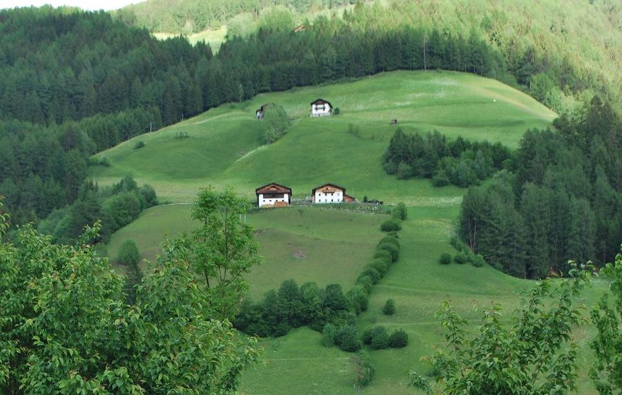пасторальный пейзаж в Алто-Адидже