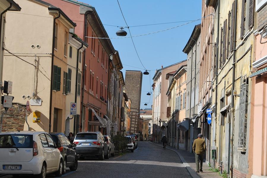 улочка Равенны