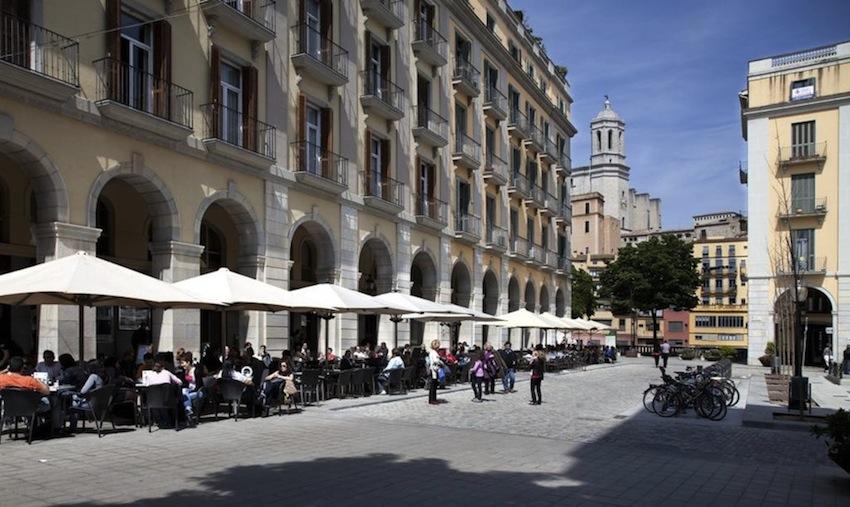 Жирона, Каталония, Испания, испанские рестораны