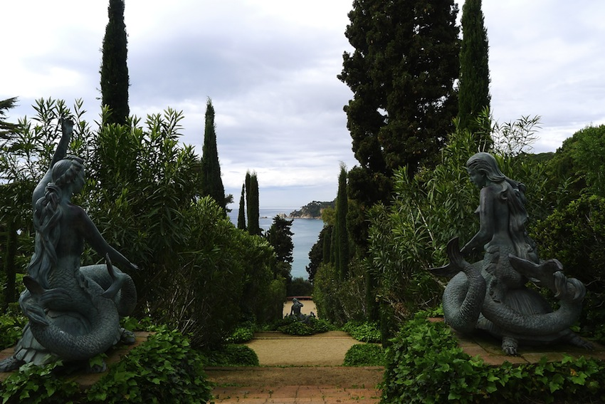 Jardins de Santa Clotilde. Коста-Брава, Каталония. Испания