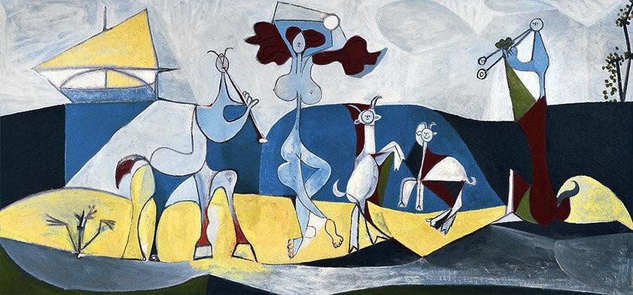 Pablo-Picasso_La-joie-de-vivre_Pastorale_1946