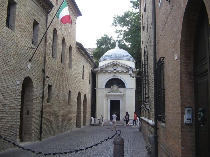Гробница Данте, Равенна