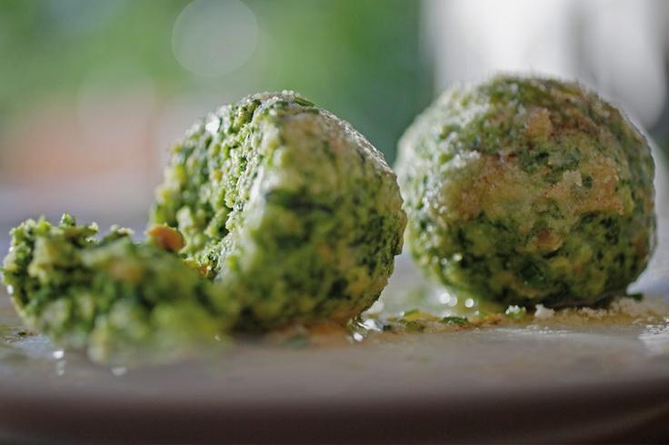 кендлики или сanederli со шпинатом