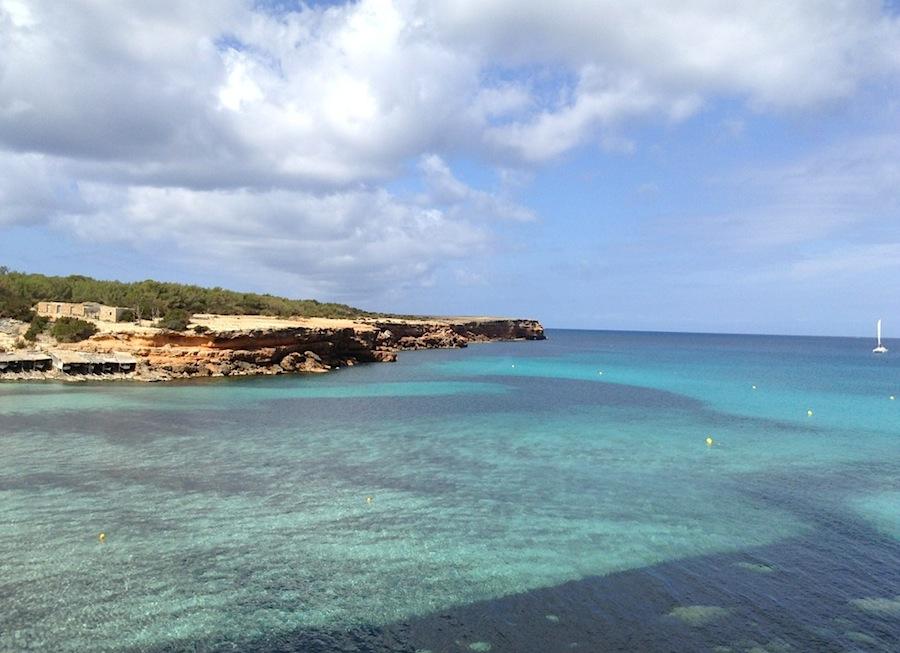пляж Cala Saona