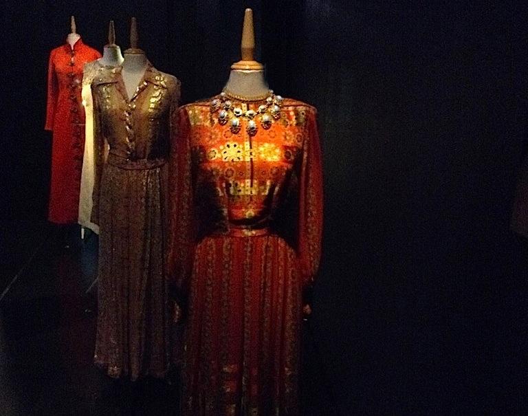 Платья Галы в замке Пуболь