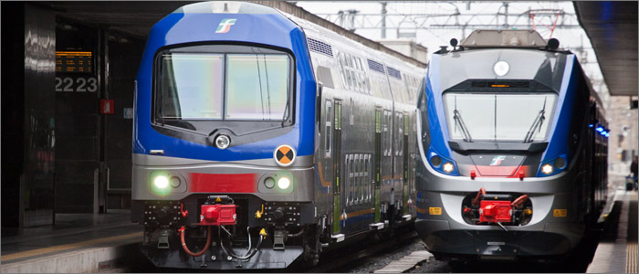итальянские поезда