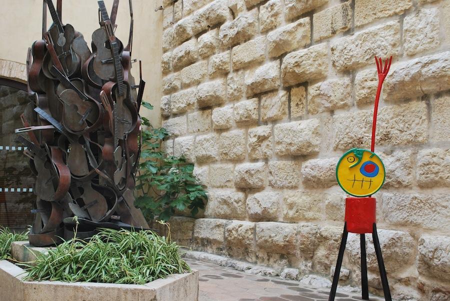 инсталляции в музее Пикассо