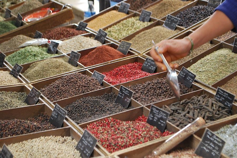 специи на Провансальском рынке, Антиб