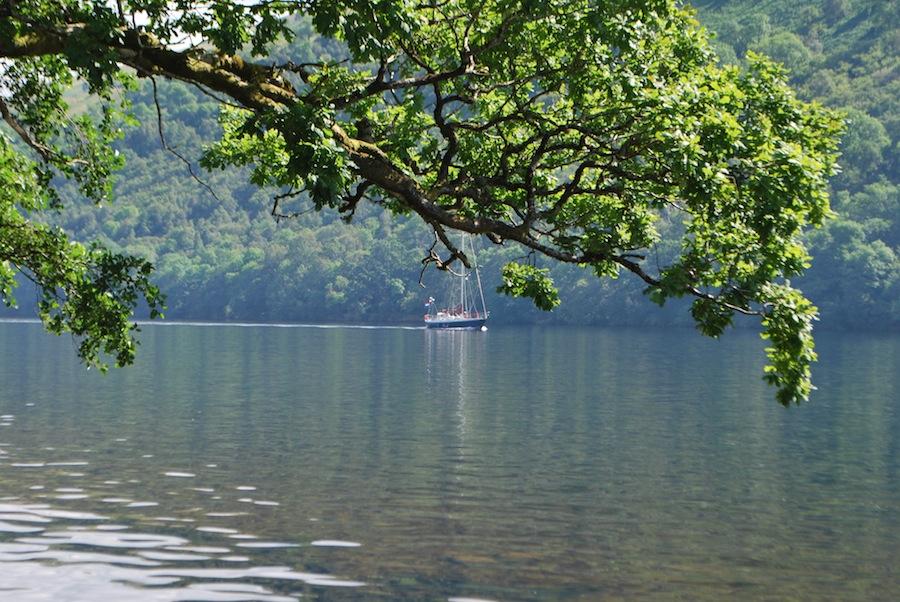 вода в озере Lox-Oy удивительно прозрачная