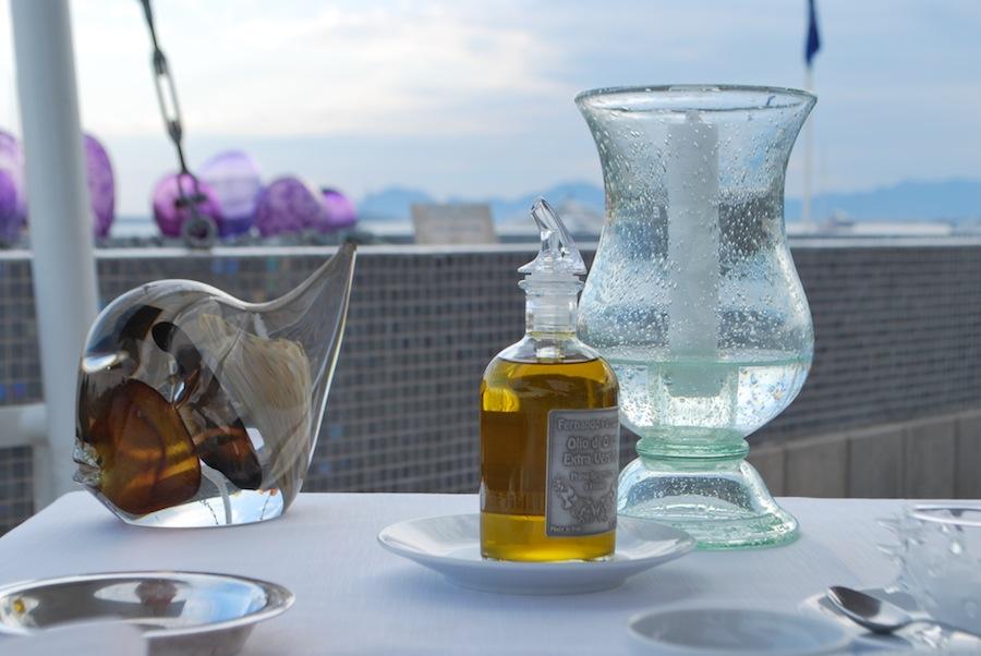 ресторан в отеле Cap d'Antibes Beach hotel Relais & Châteaux