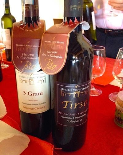 Биологическое вино Masseria Vigne Vecchie