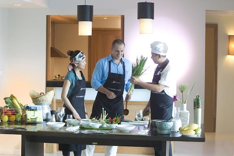 кулинарный урок в Aleenta Phuket
