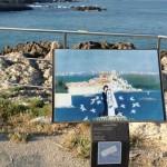 Ривьера художников в Антибе (Antibes): репродукции картин на улицах города