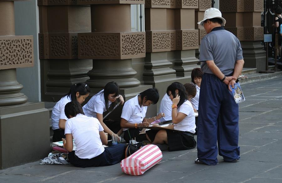 студенты Таиланда