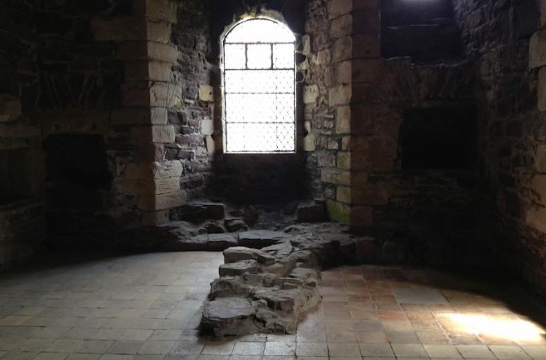 кухня в замке Дун