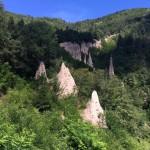 Пирамиды Сегонцано в Доломитовых Альпах