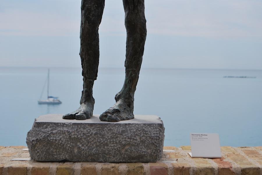 скульптура в музее Пикассо, Антиб (Antibes)