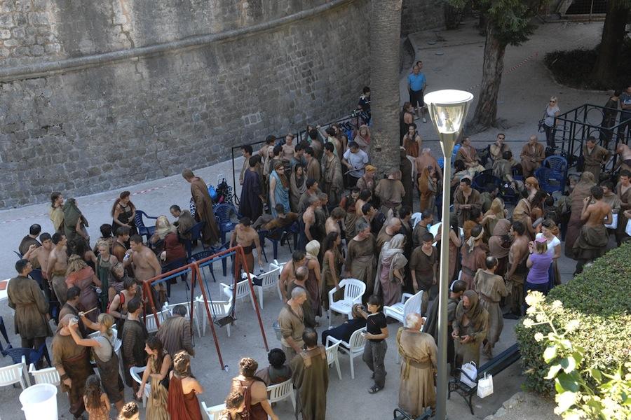 """съемки четвертого сезона """"Игр престола"""" в Хорватии"""