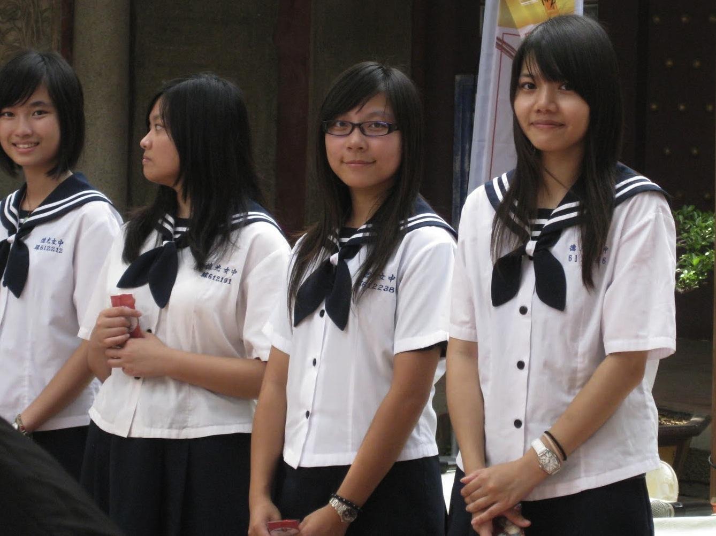 школьники, Тайвань