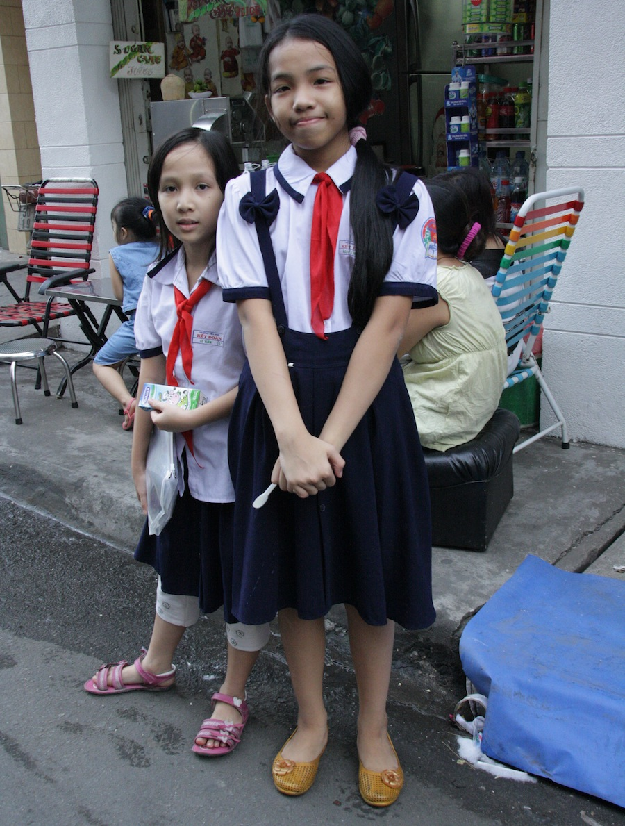 вьетнамские школьницы, Хошимин