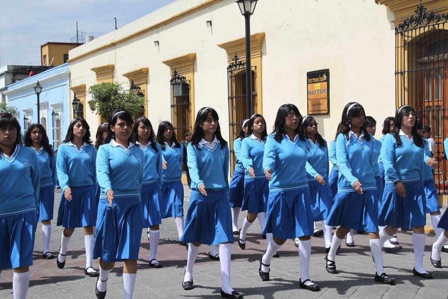 Мексика. школьная форма