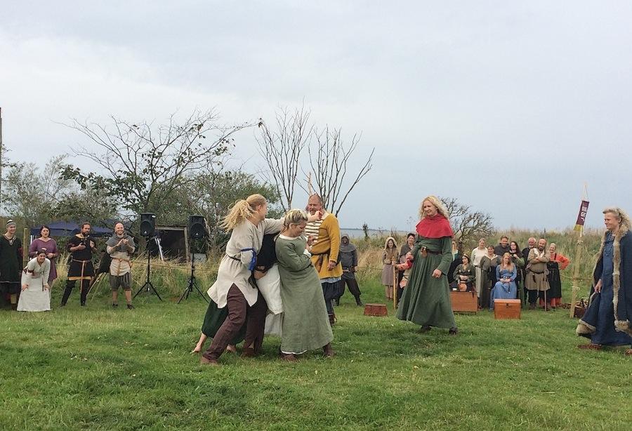 игры викингов в Швеции