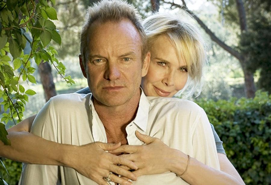 Стинг и его супруга Труди Стайлер