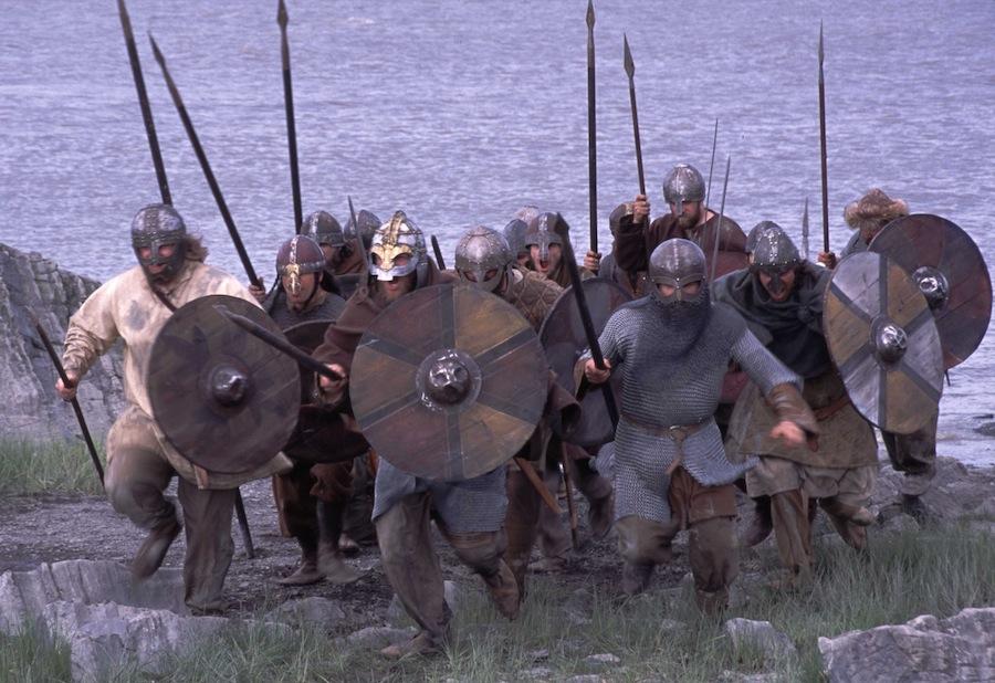 """кадр из сериала """"Викинги"""""""