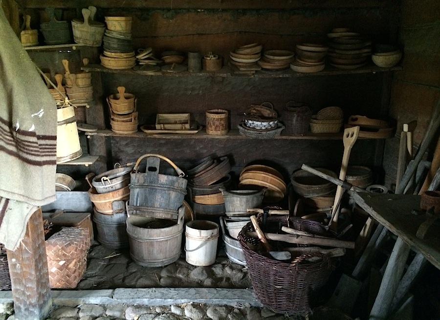 домашняя утварь в деревне викингов