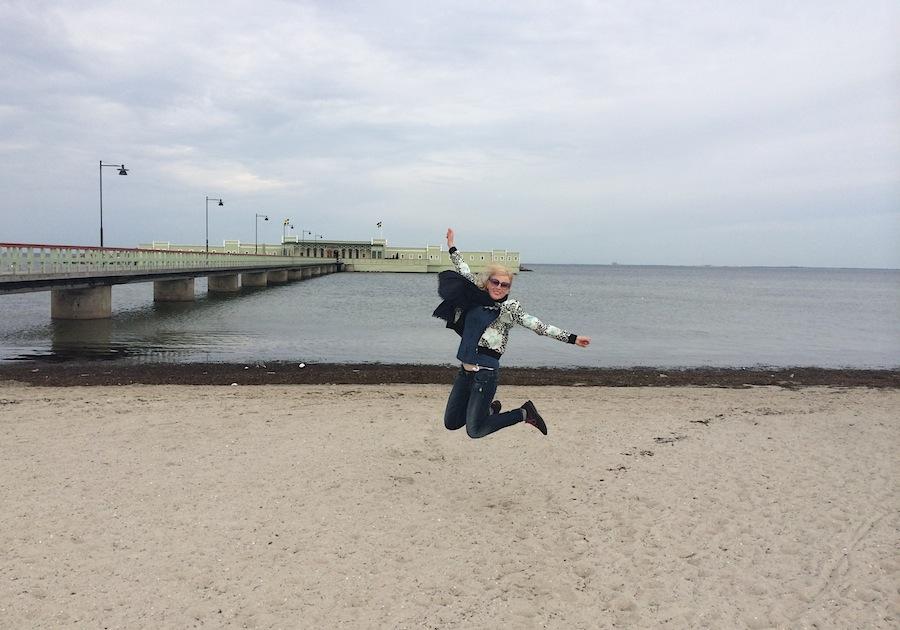 Купание в Ribersborgs Kallbadhus заряжает позитивом