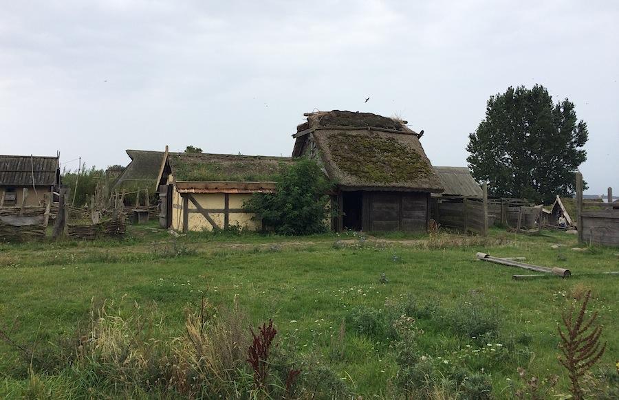 деревня викингов Foteviking