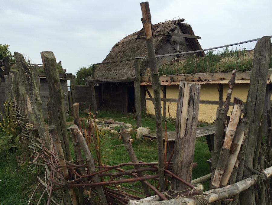 домик в деревне викингов