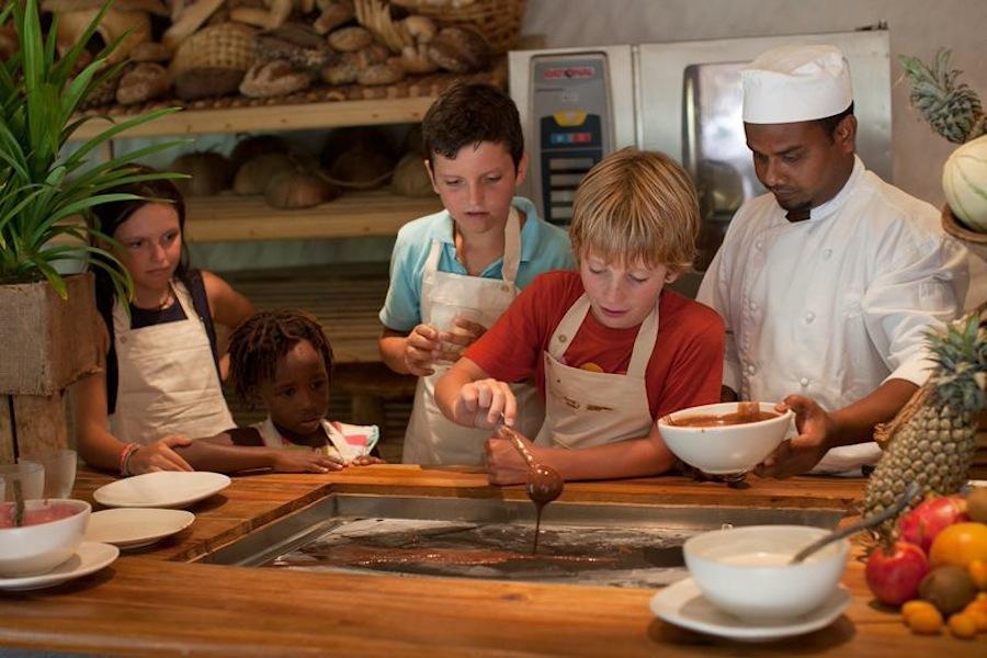 кулинарный урок для малышей