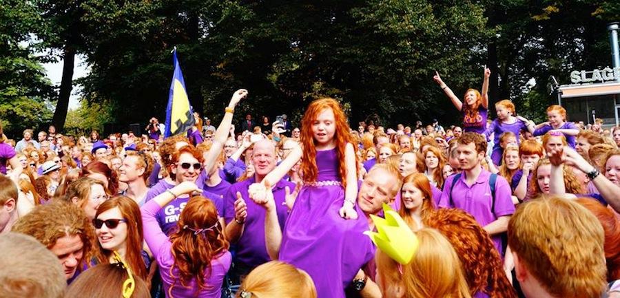 фестиваль Рыжих в Нидерландах, автор фото Verena Splett