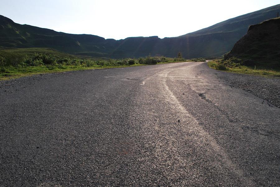 дорога, остров скай, Шотландия