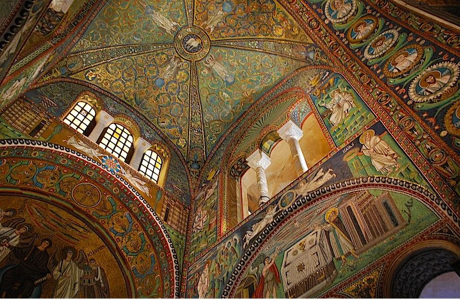 мозаики Сан-Витале (S Vitale), Равенна